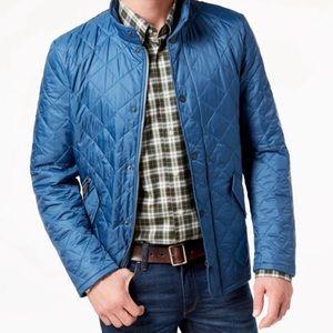 Barbour Men's Flyweight Chelsea Quilt Jacket Blue